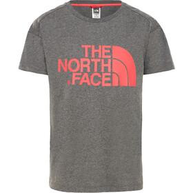 The North Face Boyfriend T-shirt Fille, tnf medium grey heather